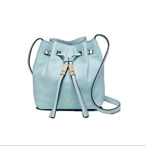 Kate Spade Mini Graceblue Cooper Bucket Bag